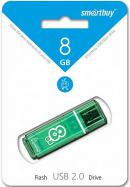 USB Flash Drive 8Gb SmartBuy Glossy Green