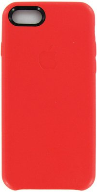 10767 Чехол Apple Leather Case для iPhone 7 (red)_4.jpg