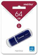 USB Flash Drive 64Gb SmartBuy Crown Blue USB 3.0