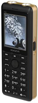 Телефон MAXVI P20 Black Gold