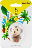 USB Flash Drive 8Gb SmartBuy Wild series Monkey