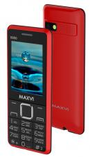 Телефон MAXVI X650 Red